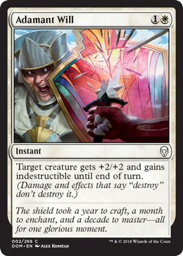 VOLUNTAD INFLEXIBLE / ADAMANT WILL (DOMINARIA)