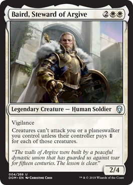 BAIRD CUSTODIO DE ARGIVIA / BAIRD STEWARD OF ARGIVE (DOMINARIA)