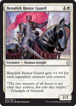 GUARDIA DE HONOR BENALITA / BENALISH HONOR GUARD (DOMINARIA)