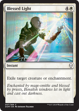 LUZ BENDITA / BLESSED LIGHT (DOMINARIA)