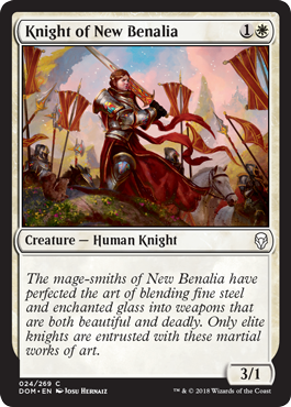 CABALLERO DE NUEVA BENALIA / KNIGHT OF NEW BENALIA (DOMINARIA)