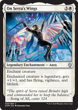 CON LAS ALAS DE SERRA / ON SERRA'S WINGS (DOMINARIA)