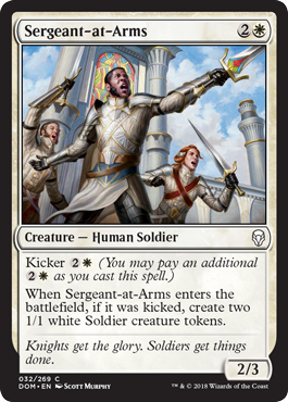SARGENTO DE ARMAS / SERGEANT-AT-ARMS (DOMINARIA)