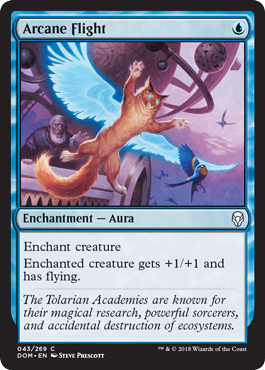 VUELO ARCANO / ARCANE FLIGHT (DOMINARIA)