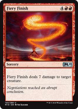 REMATE ARDIENTE / FIERY FINISH (M19)