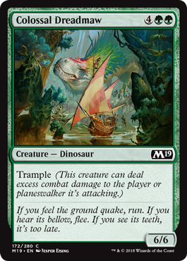 FAUCES PAVOROSAS COLOSAL / COLOSSAL DREADMAW (M19)