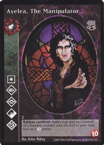 AYELEA THE MANIPULATOR (BLACK HAND)
