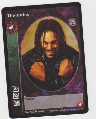 THELONIUS (BLACK HAND)