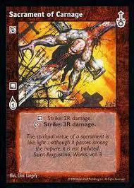 SACRAMENT OF CARNAGE (SABBAT WAR)