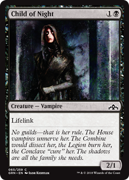 HIJO DE LA NOCHE / CHILD OF NIGHT (GREMIOS DE RAVNICA)