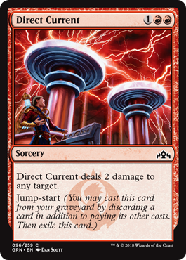 CORRIENTE DIRECTA / DIRECT CURRENT (GREMIOS DE RAVNICA)