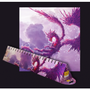 TAPETE DRAGON SHIELD RACAN CLEAR PURPLE (60X35 cm)
