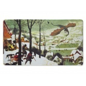 TAPETE DRAGON SHIELD HUNTERS IN THE SNOW (60X35 cm)