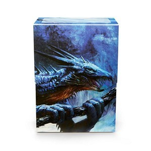 CAJA MAZO DRAGON SHIELD DECK SHELL - COLOR ZAFIRO (EDICION LIMITADA)