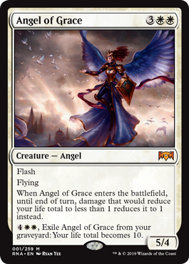 ANGEL DE LA GRACIA / ANGEL OF GRACE (LA LEALTAD DE RAVNICA)