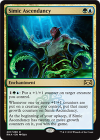 SUPREMACIA SIMIC / SIMIC ASCENDANCY (LA LEALTAD DE RAVNICA)