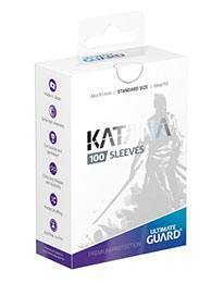 PAQUETE DE FUNDAS ULTIMATE GUARD KATANA COLOR BLANCO (100 FUNDAS)
