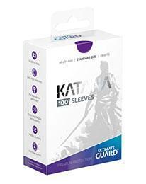 PAQUETE DE FUNDAS ULTIMATE GUARD KATANA COLOR VIOLETA (100 FUNDAS)