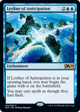 LINEA MISTICA DE LA ANTICIPACION / LEYLINE OF ANTICIPATION (M20)