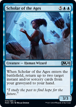 ERUDITA DE LAS ERAS / SCHOLAR OF THE AGES (M20)