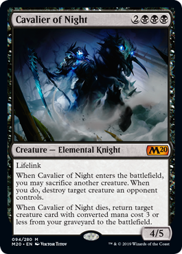CABALLERO DE LA NOCHE / CAVALIER OF NIGHT (M20)