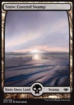 PANTANO NEVADO / SNOW-COVERED SWAMP (MODERN HORIZONS)