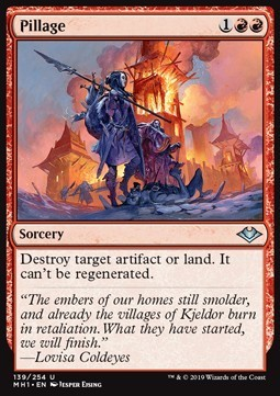 SAQUEO / PILLAGE (MODERN HORIZONS)
