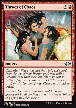 AGUIJONAZOS DEL CAOS / THROES OF CHAOS (MODERN HORIZONS)