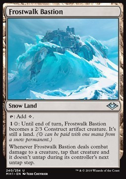 BASTION ESCARCHAMBULANTE / FROSTWALK BASTION (MODERN HORIZONS)