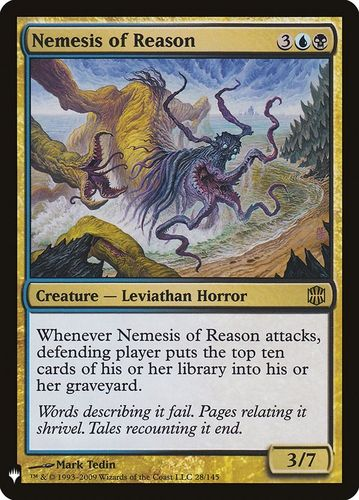 NEMESIS DE LA RAZON / NEMESIS OF REASON (MYSTERY BOOSTER)