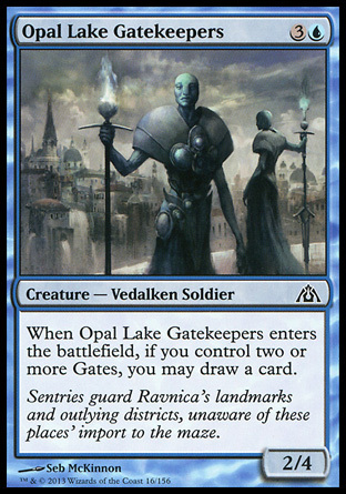 PORTEROS DEL LAGO OPALO / OPAL LAKE GATEKEEPERS (LABERINTO DEL DRAGON)