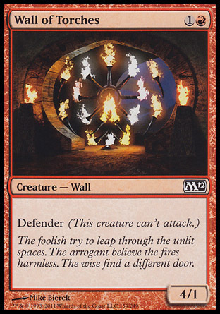 MURO DE ANTORCHAS / WALL OF TORCHES (M12)