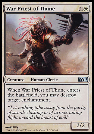 SACERDOTE GUERRERO DE THUNE / WAR PRIEST OF THUNE (M11)
