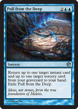 EXTRAER DE LAS PROFUNDIDADES / PULL FROM THE DEEP (TRAVESIA NYX)