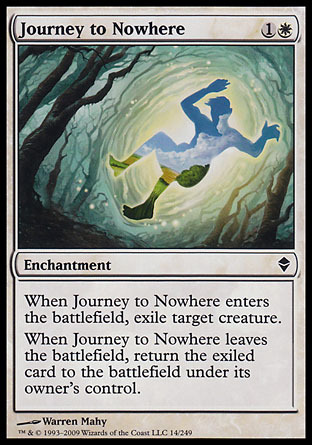 VIAJE A LA NADA / JOURNEY TO NOWHERE (ZENDIKAR)