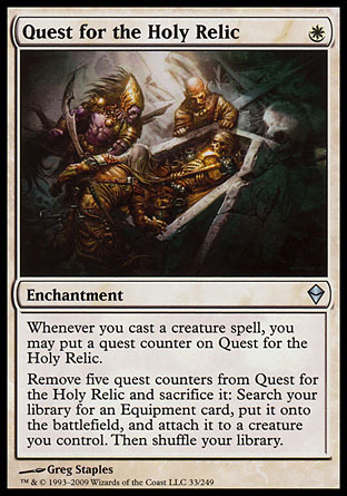 BUSQUEDA DE LA RELIQUIA SAGRADA / QUEST FOR THE HOLY RELIC (ZENDIKAR)