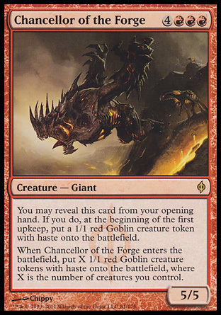 CANCILLER DE LA FRAGUA / CHANCELLOR OF THE FORGE (NUEVA PHYREXIA)