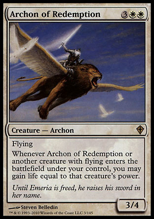 ARCONTE DE REDENCION / ARCHON OF REDEMPTION (DESPERTAR DEL MUNDO)