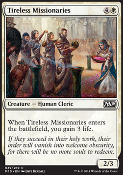 MISIONEROS INCANSABLES / TIRELESS MISSIONARIES (M15)