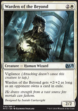 PROTECTOR DEL MAS ALLA / WARDEN OF THE BEYOND (M15)