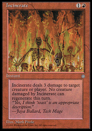INCINERAR / INCINERATE (ERA GLACIAL)