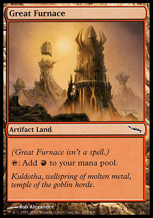 GRAN HORNO / GREAT FURNACE (MIRRODIN)