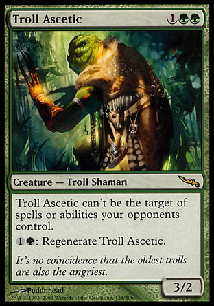 ASCETA TROL / TROLL ASCETIC (MIRRODIN)