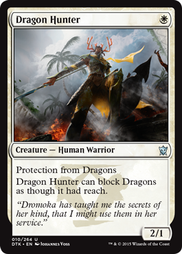 CAZADOR DE DRAGONES / DRAGON HUNTER (DRAGONES DE TARKIR)