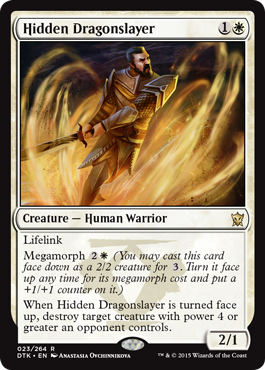 MATADRAGONES OCULTO / HIDDEN DRAGONSLAYER (DRAGONES DE TARKIR)