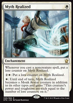 MITO ENCARNADO / MYTH REALIZED (DRAGONES DE TARKIR)