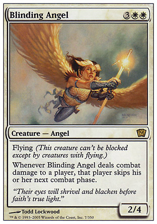 ANGEL CEGADOR / BLINDING ANGEL (NOVENA)