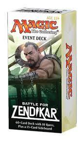 EVENT DECK BATTLE FOR ZENDIKAR (INGLES)