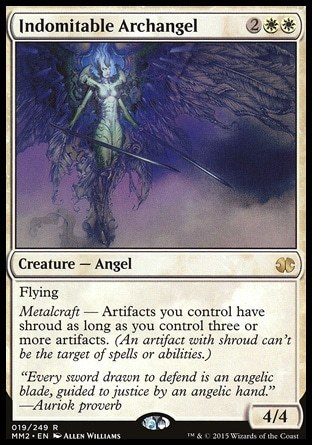 ARCANGEL INDOMABLE / INDOMITABLE ARCHANGEL (MODERN MASTERS 2015)