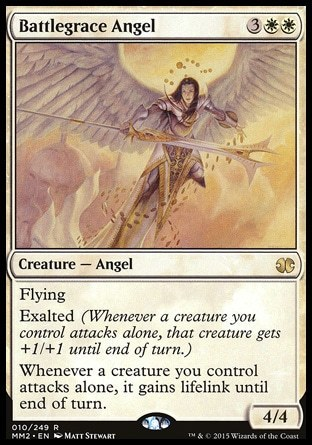 ANGEL BENDICION DE BATALLA / BATTLEGRACE ANGEL (MODERN MASTERS 2015)